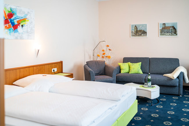 Juniorsuite mit Loungeecke