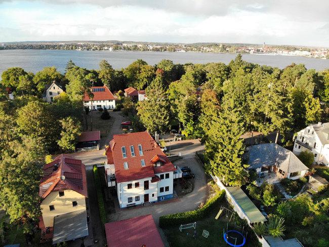 Luftbild vom Ferienhaus