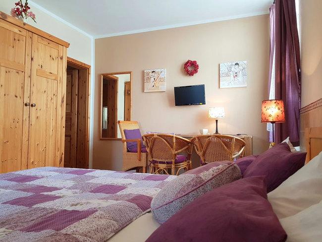 Appartement Ostseesand - Schlaf- und Wohnraum