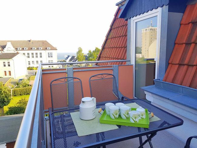alle Wohnungen Balkon mit Meerblick