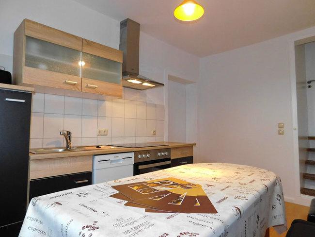 Fewo Daniel - Küche mit Esstisch
