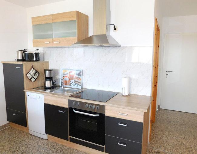 Fewo Denny - Einbauküche im Wohnraum