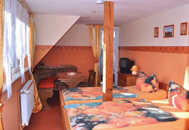 Zimmer Blick Schwerin mit Balkon