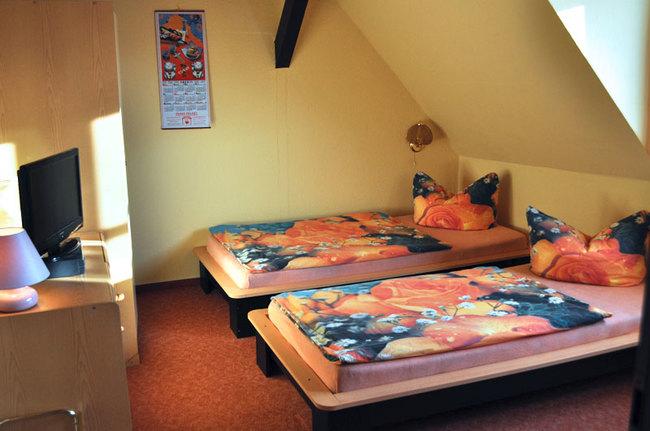 Zimmer Blick Schwerin ohne Balkon