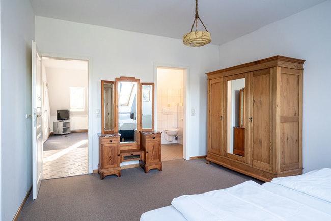 Schlafbereich 2-Zimmer-Appartement