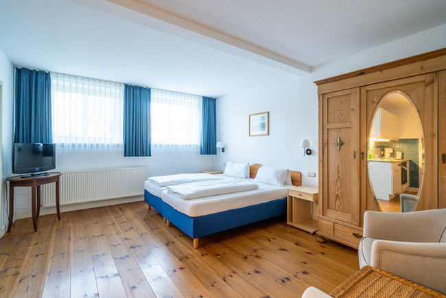 Schlafbereich 1-Zimmer-Appartement