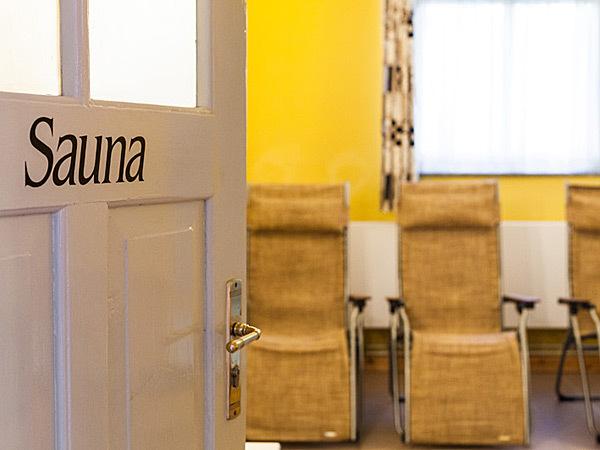 Sauna im Gutshaus