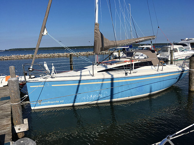 Scandinavia Yachts neu 2020 im Hafen