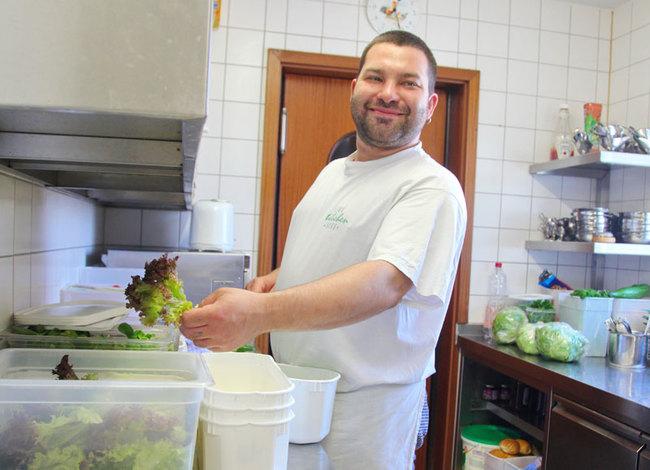 Restaurant - Koch in der Küche
