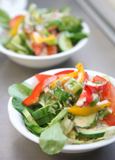 Restaurant - frischer Salat