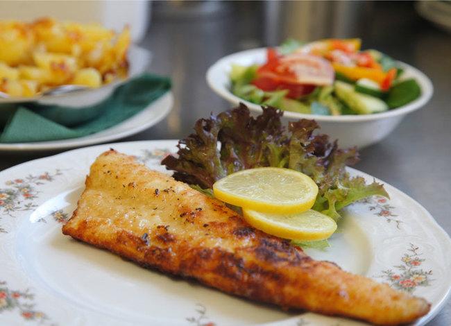 Restaurant - Fischgericht