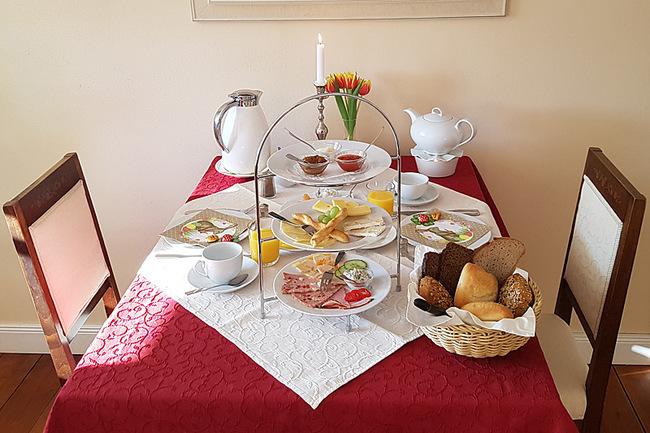 Frühstück im Gutshaus Neu Farpen