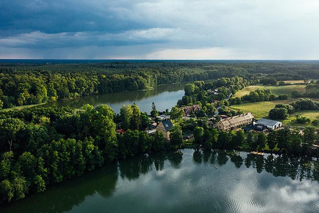 Luftbild Haus am Gobenowsee I © TMV/Gänsicke