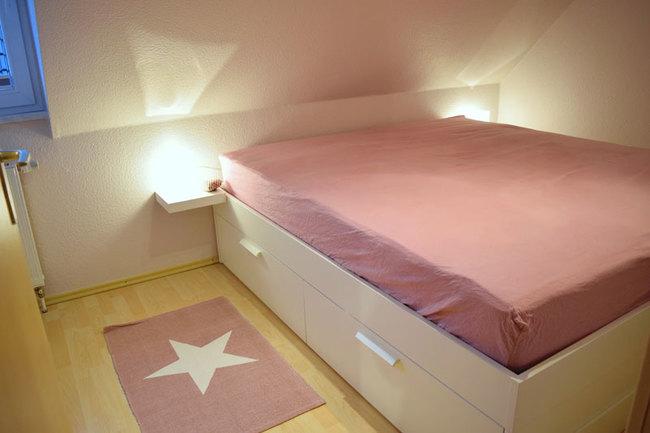 Fewo im OG - Schlafzimmer