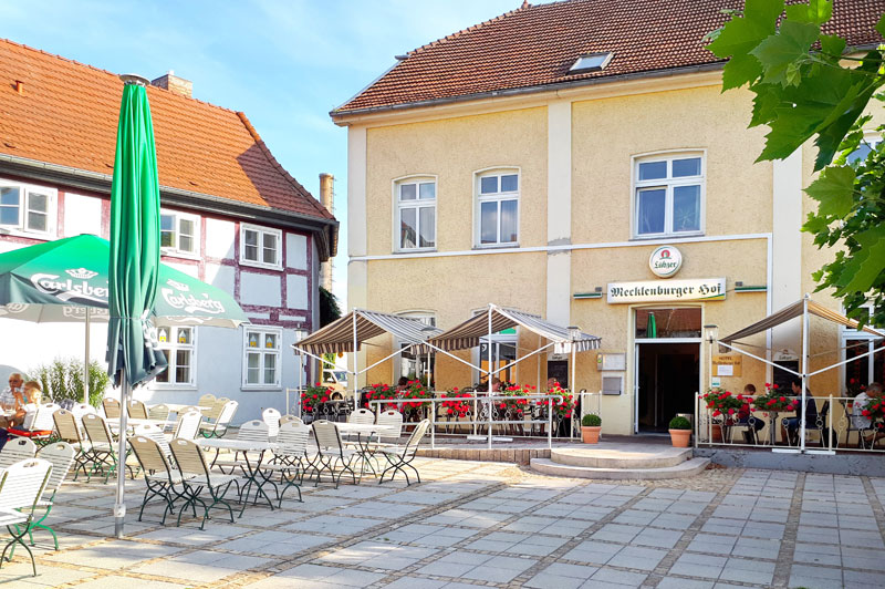 Gastronomie im Mecklenburger Hof