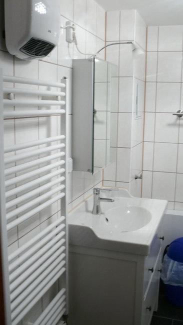 Bad im Appartement