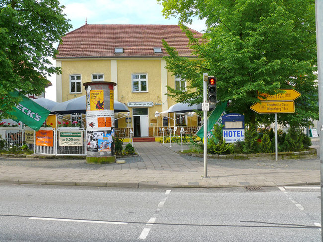 Frontansicht Mecklenburger Hof