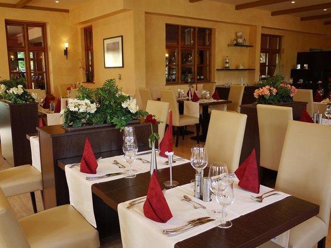 """Restaurant im Hotel Landhaus """"Am Grün"""""""