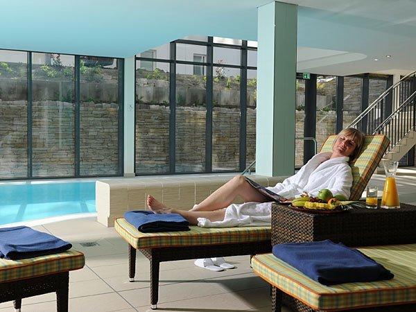 Wellnessbereich im Park-Hotel Hübner