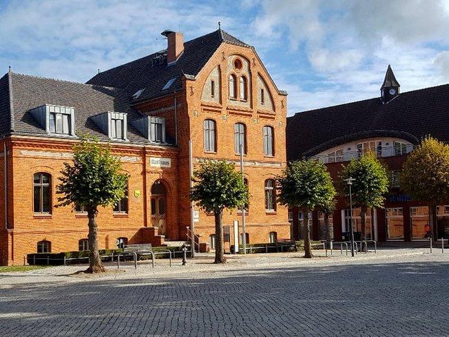 Altstadt und Marktplatz Lübz