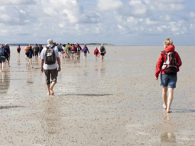 Wattwanderung auf der Insel Sylt