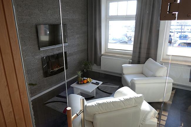 Appartement Meerblick - Wohnraum