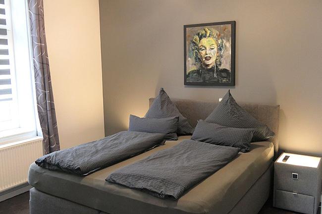 Appartement Meerblick - Schlafzimmer