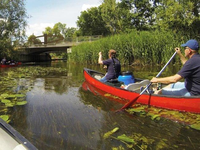 Kanu- oder Kajaktouren - Lewitzboot Foese