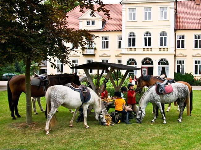 Reiterhof auf dem Landgut Oberhof