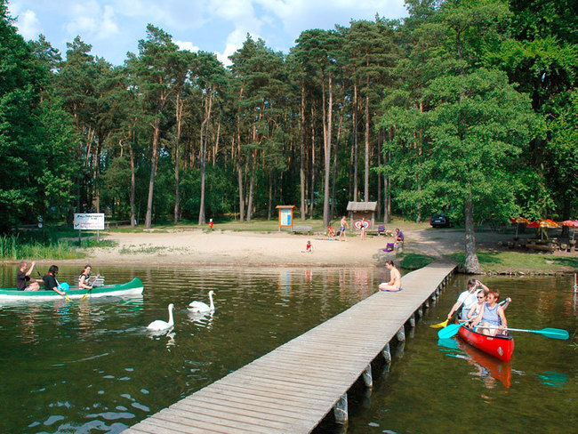Campingplatz am Leppinsee