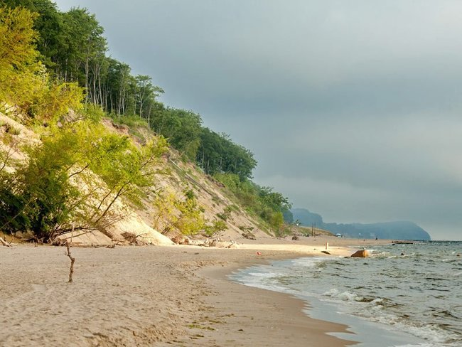 Steilküste Bansin