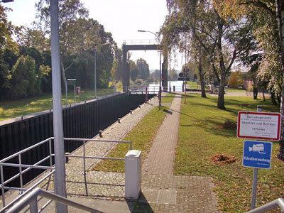 Wasserwanderrastplatz Hohe Brücke in Parchim