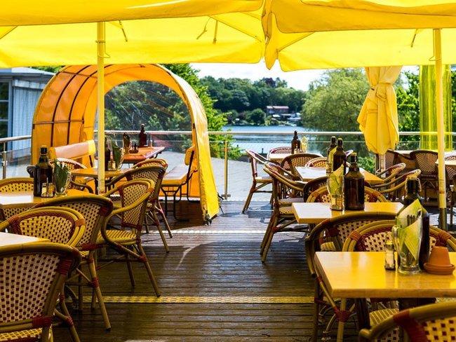"""Gastronomie im Hotel """"Am Brauhaus"""""""