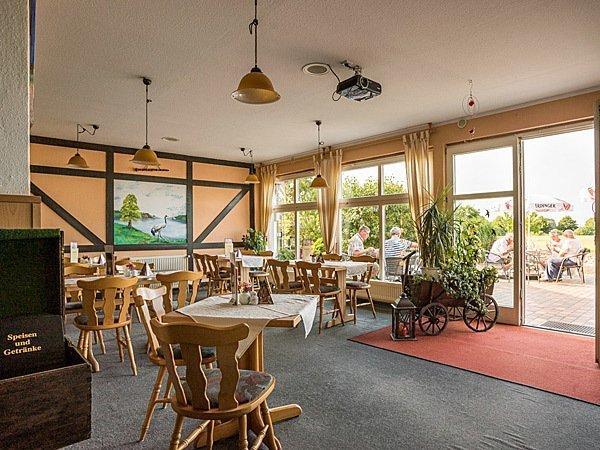 Restaurant in der Pension Müritzblick