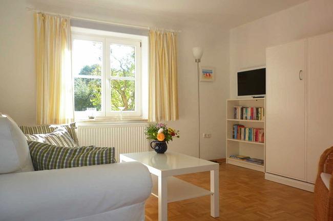 Wohnzimmer Mit Flachbild Sat TV