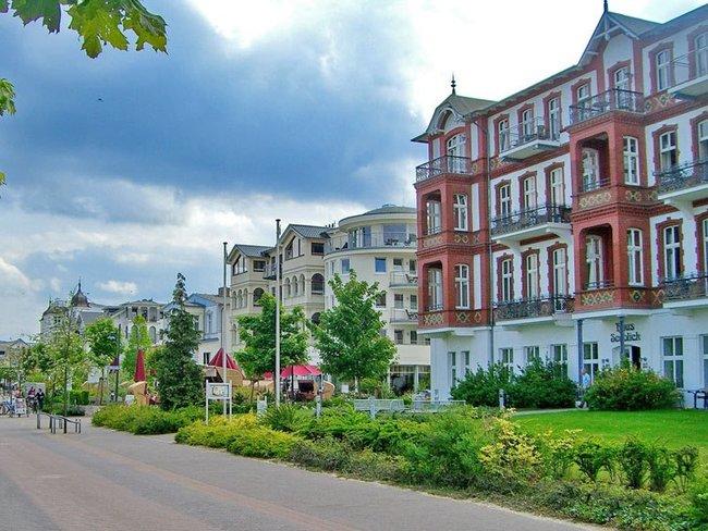 Bäderarchitektur in Ahlbeck