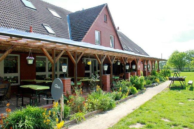 Gaststätte auf Sabines Bauernhof