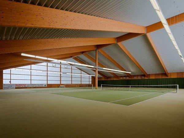 Tennisplätze im Sporthotel Malchow