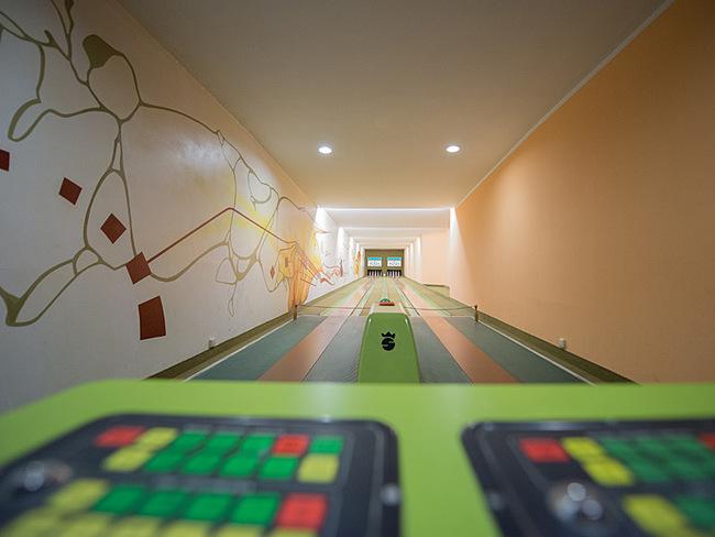 Kegelbahn im Casilino Hotel Schweriner Tor
