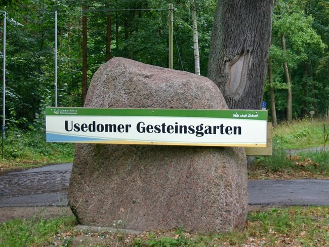 Usedomer Gesteinsgarten