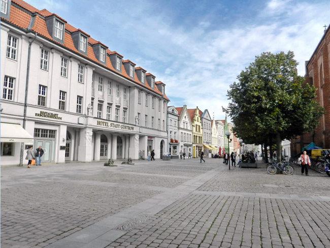 Marktplatz Güstrow