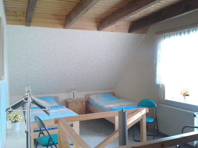 Fewo - SZ im OG mit 2 Einzelbetten