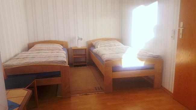 Fewo - SZ mit 2 Einzelbetten