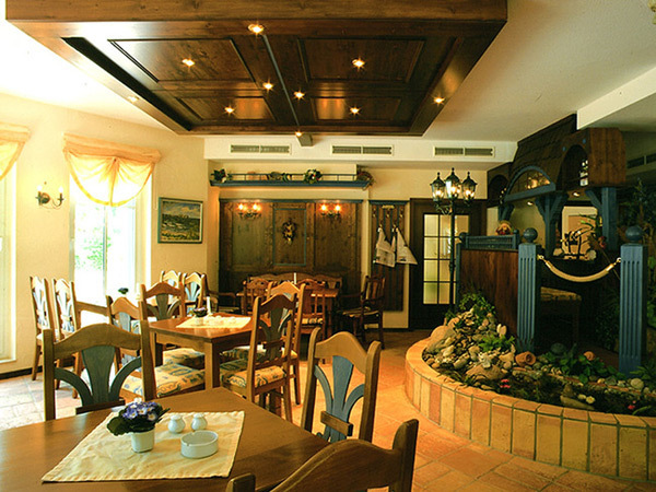 Restaurant im Hotel Svantevit