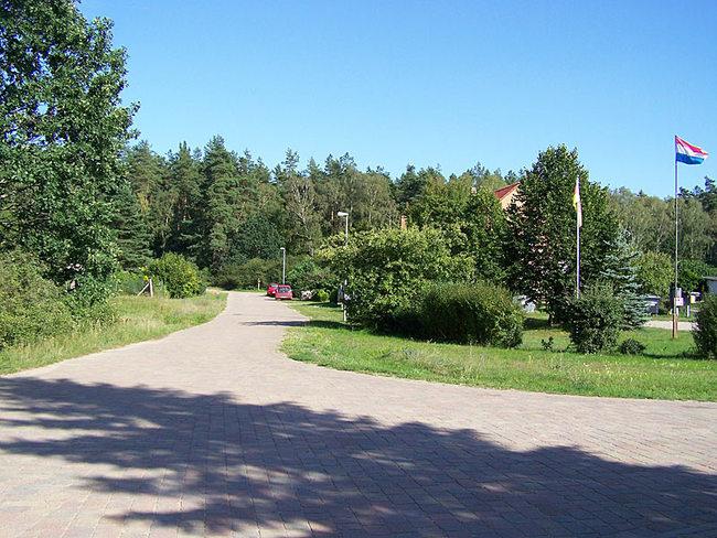 Dorfstraße von Klockow