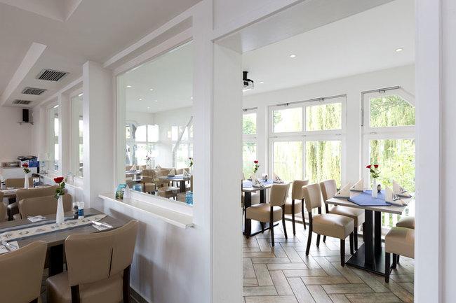 modern ausgestattetes Restaurant