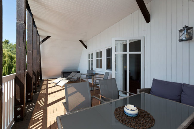 """Suite """"Kapitänszimmer"""" - Balkon"""