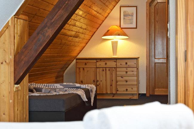 """Suite """"Schiffsbrücke"""" - Schlafplatz mit Einzelbett"""