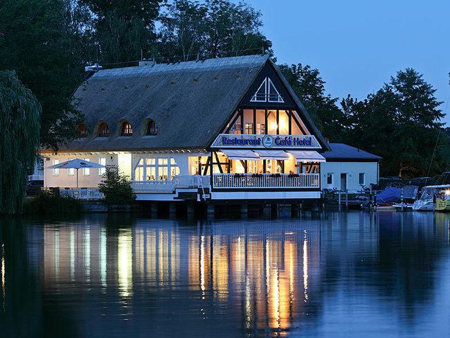 Restaurant im Hotel Seglerheim