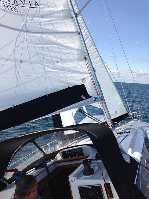 Scandinavia 30 beim Segeln